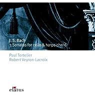 Bach, JS : 3 Sonatas for Cello & Harpsichord - Elatus