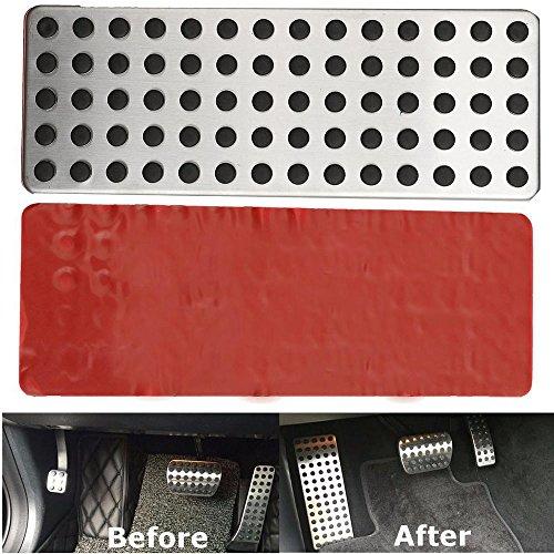 ICTRONIX Car Styling nicht Beleg Fußablage Platte kein Drill Fußstütze Foot Rest plate (C250-serie)
