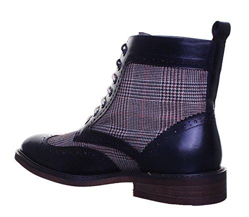 Justin Reece  Gerard, Chaussures de ville à lacets pour homme Navy D12