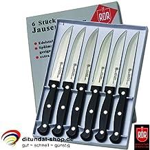 Lot de 6 couteaux de table brotzeitmesser rÖR 10290 viande (couverts)