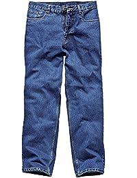 Dickies WD1693 BU 44R Stonewashed Jean de travail délavé Taille 60 Bleu