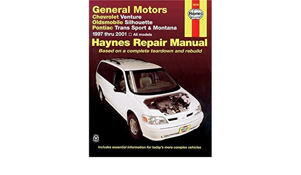general motors chevrolet venture 97 01 oldsmobile silhouette 97 rh amazon co uk Haynes Manual Monte Carlo Back Haynes Manual Monte Carlo Back