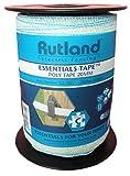 Rutland 12-105R Essentials-Weidezaun Litze 20mm-200m-6x0.15mm, Weiß, 29x14x14 cm