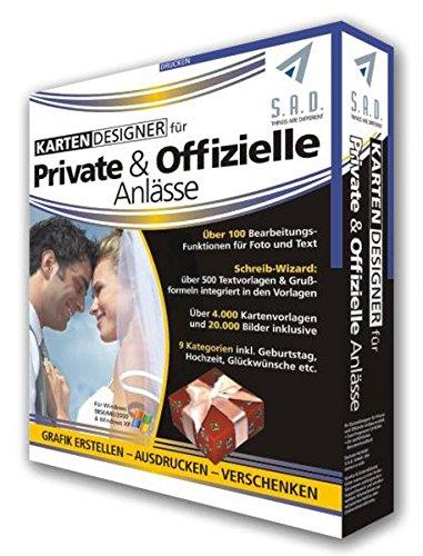 KartenDesigner für Private und Offizielle Anlässe -