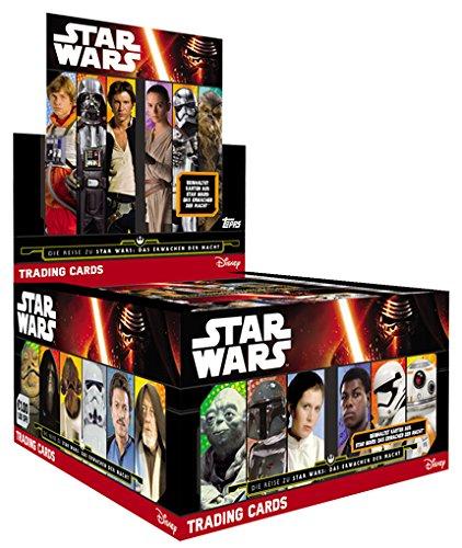Topps Journey to Star Wars JN-swapkarte-REY-édition limitée