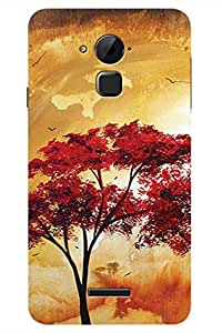 AMAN Paint Tree 3D Back Cover for Coolpad Note 3 Plus