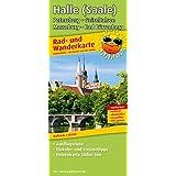 Rad- und Wanderkarte Halle (Saale), Petersberg - Geiseltalsee - Merseburg - Bad Dürrenberg: Mit Ausflugszielen, Einkehr- & Freizeittipps sowie ... wetterfest, reissfest, abwischbar, GPS-genau