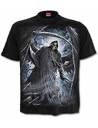 Spiral T-Shirt Reaper Bats Homme Noir