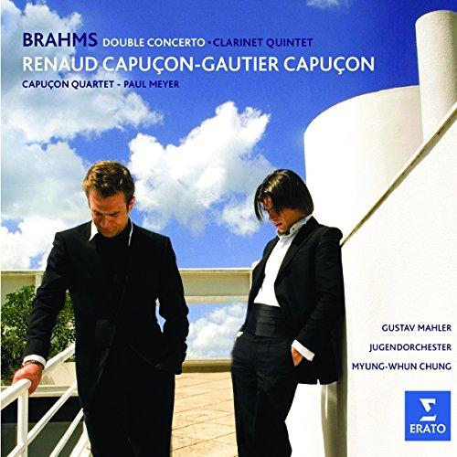 Brahms : Double concerto pour violon et violoncelle Op. 102 - Quintette pour clarinette Op. 115