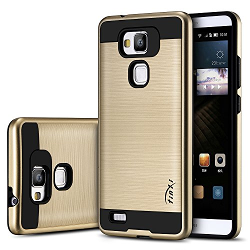 tinxi-hard-pc-frame-protective-skin-shell-silicone-back-cover-case-for-huawei-ascend-mate-7-gold