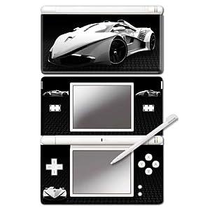 Nintendo DS Lite – Modding Skin -Carbon Car-
