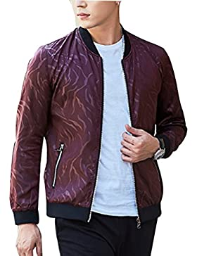 Zhhlinyuan ropa de calle Mens Fashion High Quality Spring Fashion Jacket Thin Slim Casual Outdoor
