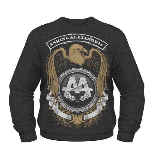 Price comparison product image Asking Alexandria Eagle Sweatshirt Anthracite mixed M