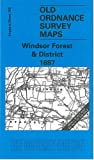 Windsor Forest and District 1887: One Inch Map 269 (Old Ordnance Survey Maps of England & Wales)