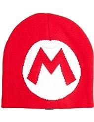 Nintendo Beanie Mario M Strickmütze Mütze Cap Super Mario Bros. Strickmütze
