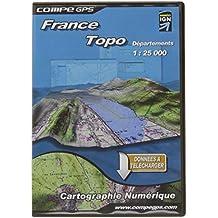 Topo Mosaico Alpes franceses para Twonav (1:25.000) - Mapas para GPS, 436 teselas (3,6 Gb)