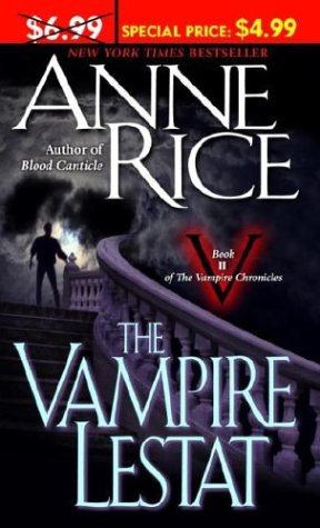 Book cover for The Vampire Lestat