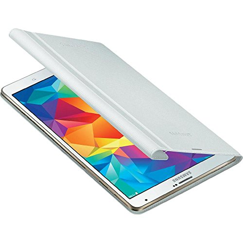 Samsung EF-BT700BWEGWW Book Cover per Galaxy Tab S 8.4, Bianco