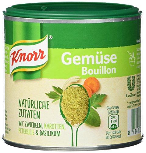 Knorr Gemüse Bouillon Natürliche Zutaten Brühe Dose, 6,75 Liter, 6er Pack