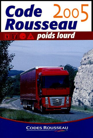 Code Rousseau poids lourd 2005