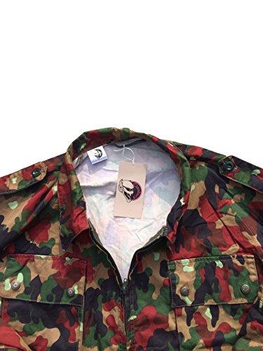 Cissbury Tedesco Militare Tema Flecktarn Goretex Parka