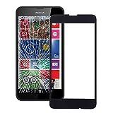 Vetro Display Vetro Frontale per Nokia Lumia 630 635 Ricambio Sostituzione Display Touch Vetro Screen Nero