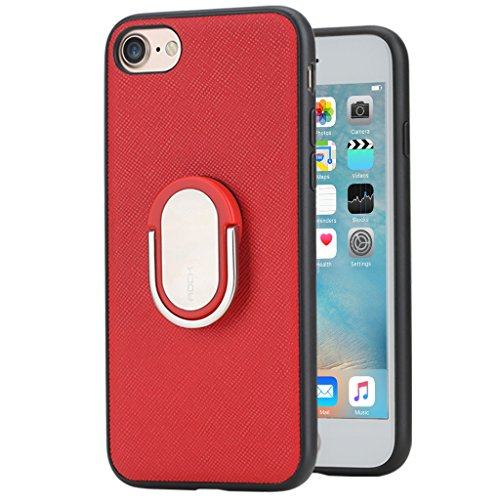 Halter Designer-ausführungen (iPhone7 Decken bei Ring Halter Ständer-Rot)