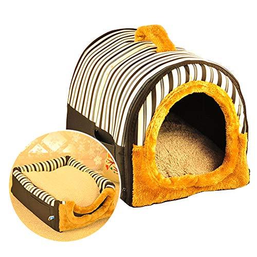ACTNOW Casa mascotas sofá portátil 2 1 - Iglú antideslizante