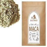 EDEL KRAUT | BIO MACA-PULVER Premium Superfood MIX aus 100% MACAWURZEL (SCHWARZ, ROT und GELB) 1000g