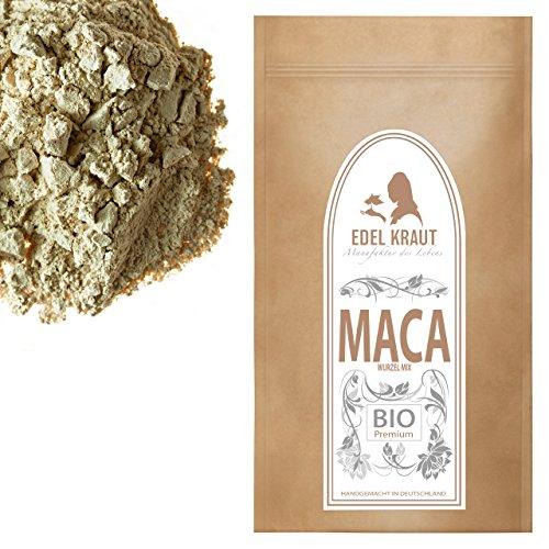 Super Smoothie Mix (EDEL KRAUT | BIO MACA-PULVER Premium Superfood MIX aus 100% MACAWURZEL (SCHWARZ, ROT und GELB) 1000g)
