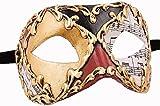 unbespielt - Maschera di carnevale veneziana di Colombina, fatta a mano
