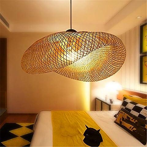 WEXLX Jardin Chinois personnalité créatrice Chambre Salon Restaurant Étude Protection oculaire 80*25cm Lustres