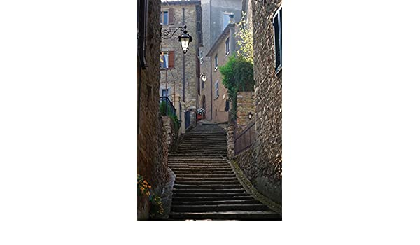 JP London Mural Venice Steps City Staircase at 2 Wide by 3 feet high SPMUR0024 Fully Removable Peel and Stick Wall Art