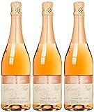 Achim Hochthurn Merlot Sekt rosé B.A. trocken, 3er Pack (3 x 750 ml)