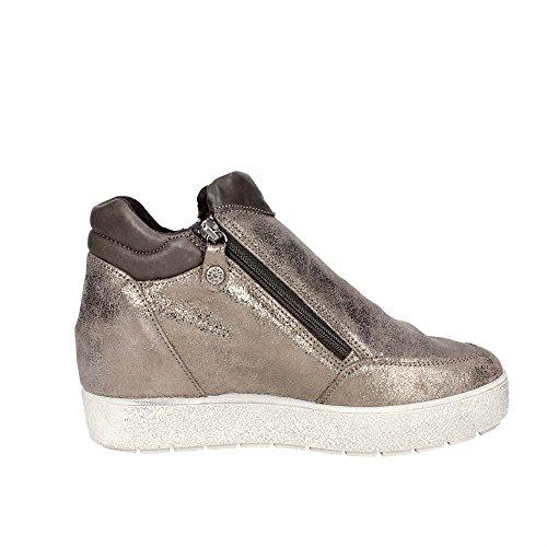 Imac 83010 Haute Sneakers Femme Marron Marron - Chaussures Basket montante Femme