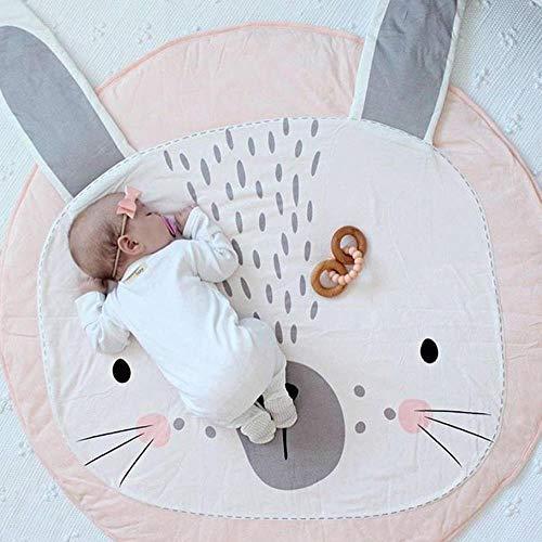 Wddqzf Dekoration Statuen Spielmatten Für Baby,Baby Infant Cartoon Kriechende Matte Spielmatte Decke Spielmatte Weicher Teppich Neugeborenes Baby Frühe Entwicklung Spielmatte Raumdekoration Für 0-3