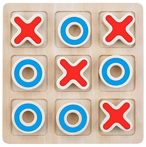 Engelhart Tres en raya de madera juego de lógica - 610030