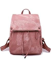 Women Backpack Waterproof Anti-theft Lightweight PU Fashion Leather Nylon School Shoulder Bag Travel Cute Backpack Girls Ladies