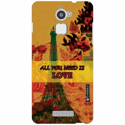 Coolpad Note 3 Lite Back Cover - All You Need Is Love Designer Cases