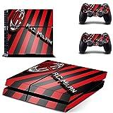 Hytech Plus AC Milan Red & Black Stripes...