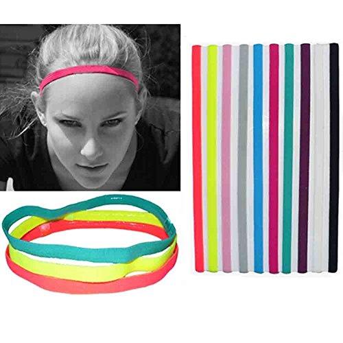 upmall® Yoga Fascia con non antiscivolo, ideale per corsa, tennis,
