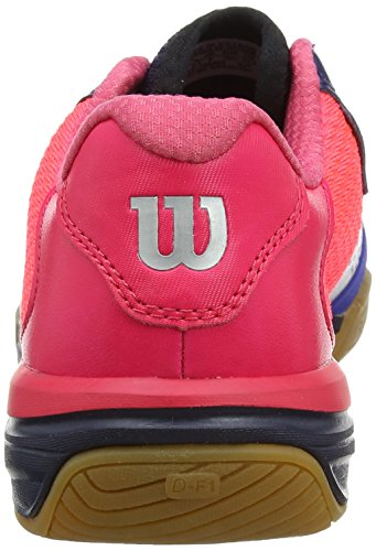 Wilson Vertex Navy Wil, Baskets Basses Mixte Adulte Bleu