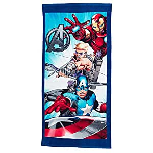 serviette de plage avengers cuisine maison. Black Bedroom Furniture Sets. Home Design Ideas