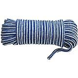 Multifunktions-Seil PP 15 m 9,5 mm Reißfestigkeit 200 kg sehr beständig für Camping, Hobby, Haus