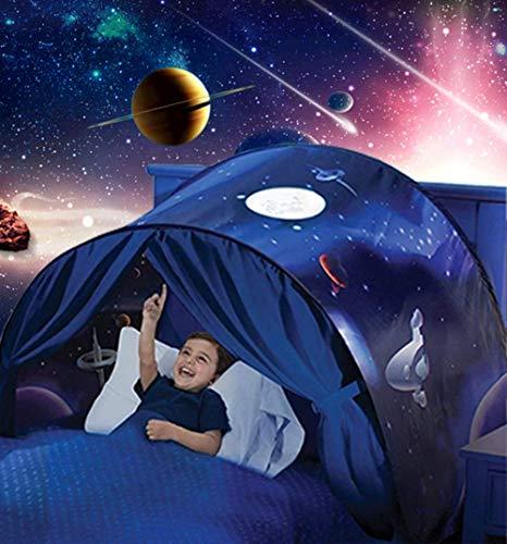 Winter Tunnel Bett Zelt Kinderzimmer Dekoration Wonderland Kinderbett Hochbett Kid's bettzelt für Babybett,80 * 220cm