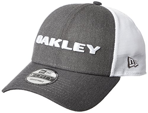 Oakley Heather New Era Hat Cap, Graphite, One Size