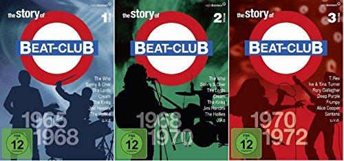 The Story of Beat-Club: 1965 - 1972 (Vol. 1+2+3) * DVD Set (1-3) (Jazz-dvd-set)