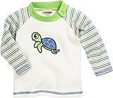 Schnizler Unisex Baby Sweatshirt Langarmshirt Schildkröte, Oeko-Tex Standard 100, Grün (Grün 29), 68