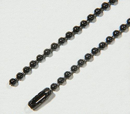 SBS Catena in acciaio inox, lunghezza 1metro, diametro 3,2mm, incluse 4x chiusure (1 Metro In Acciaio Inox)