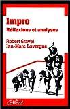 Impro - Tome 1, Réflexions et analyses